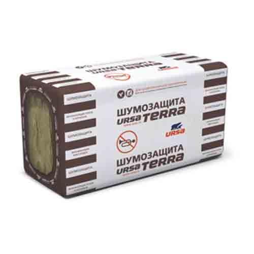Утеплитель Урса Terra34 PN (10) 1000-610-50 Шумозащита URSA 6.1куб.м /0,305куб. м)