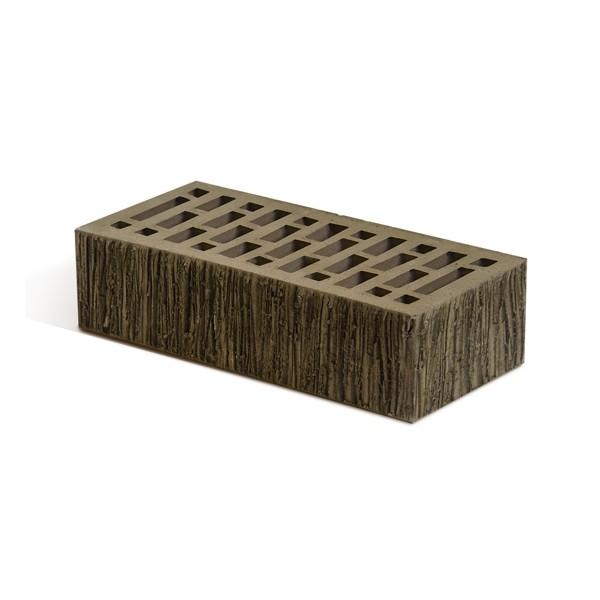 Кирпич лицевой Маркинский КЗ Британия коричневый тростник одинарный