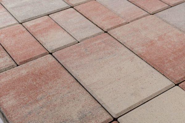 Тротуарная плитка BRAER Мозаика «ФЛАМИНГО»