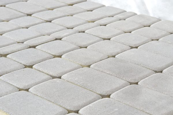 Тротуарная плитка BRAER Классико, Серебристый
