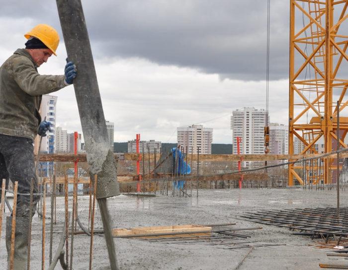 Зимнее строительство: работа с бетоном при отрицательных температурах