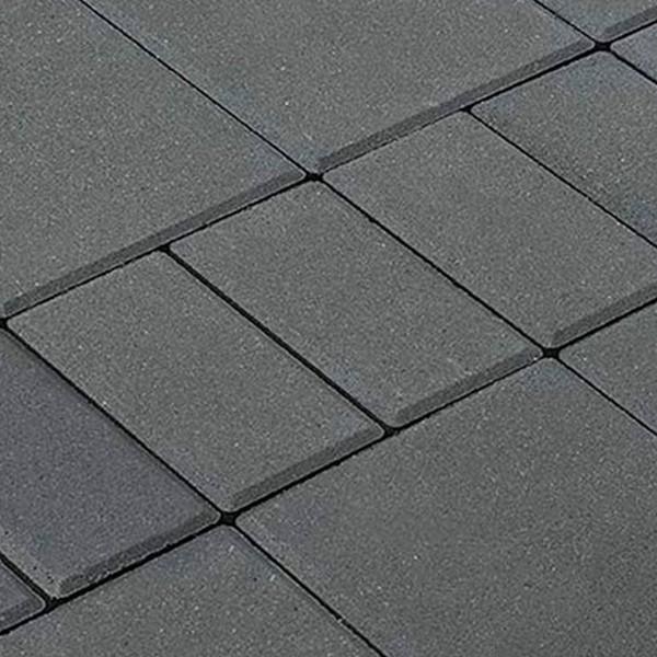 Тротуарная плитка BRAER Мозаика, Серый