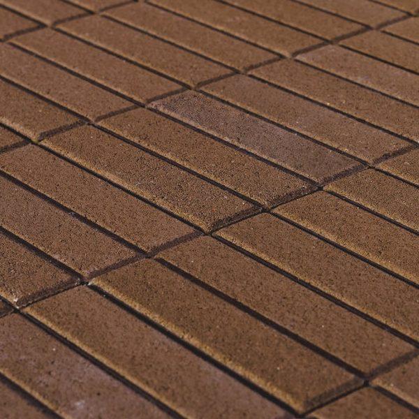 Тротуарная плитка BRAER Прямоугольник, Коричневый