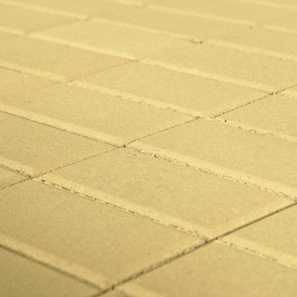 Тротуарная плитка BRAER Прямоугольник, Песочный