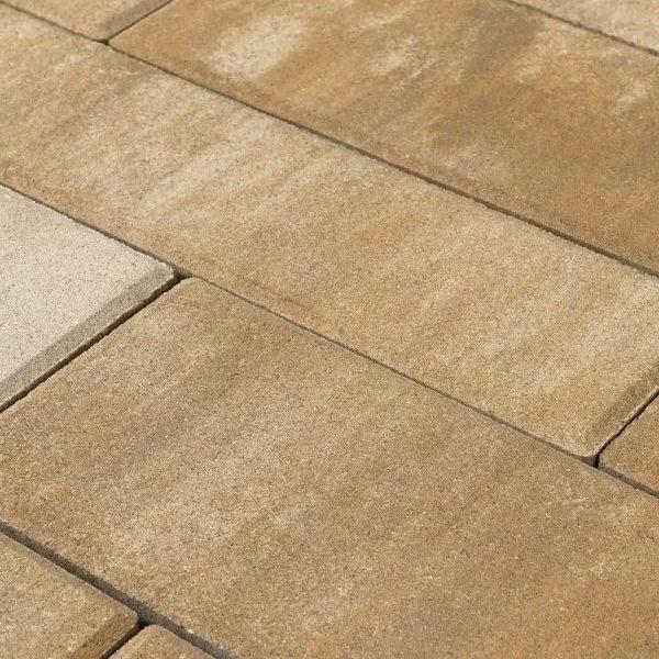 Тротуарная плитка BRAER Домино COLOR MIX «Плато»