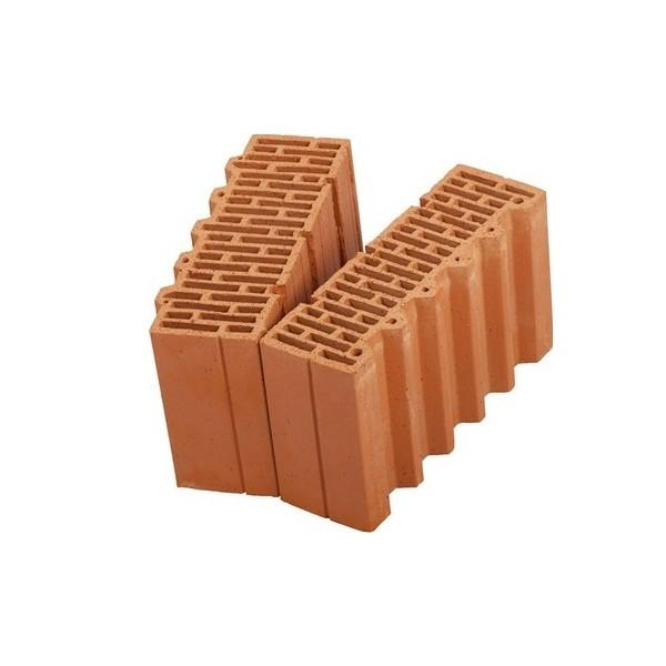 Керамический блок крупноформатный POROTHERM 38 1/2 доборный элемент поризованный М100