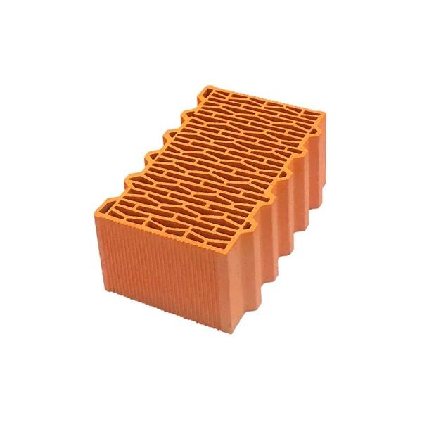 Керамический блок крупноформатный Porotherm 38 Thermo поризованный М100