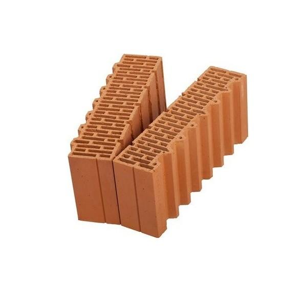 Керамический блок крупноформатный POROTHERM 51 1/2 доборный элемент поризованный М100