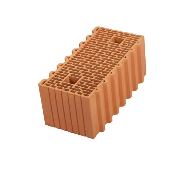 Керамический блок крупноформатный POROTHERM 51 поризованный М100