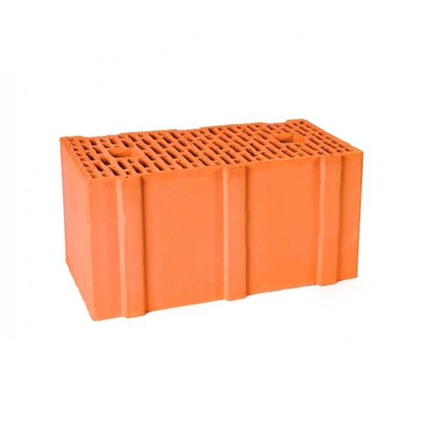 Керамический блок крупноформатный поризованный 12,3НФ Гжель М100-125