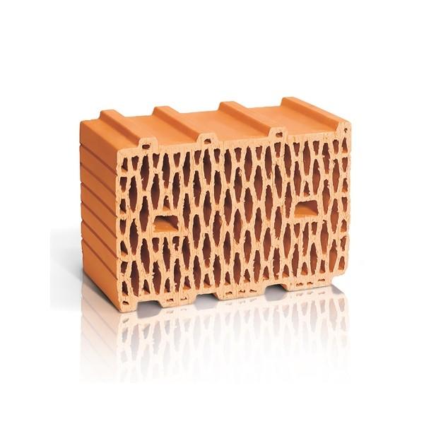 Крупноформатный поризованный керамический блок ЛСР 10,7 NF М100