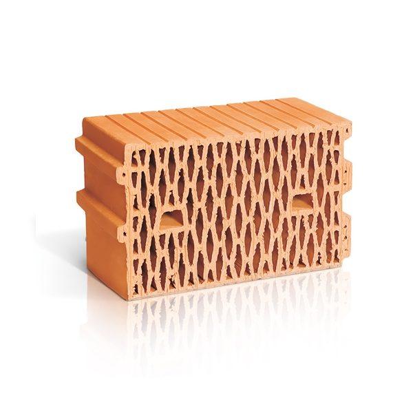 Крупноформатный поризованный керамический блок ЛСР 11,2 NF М100