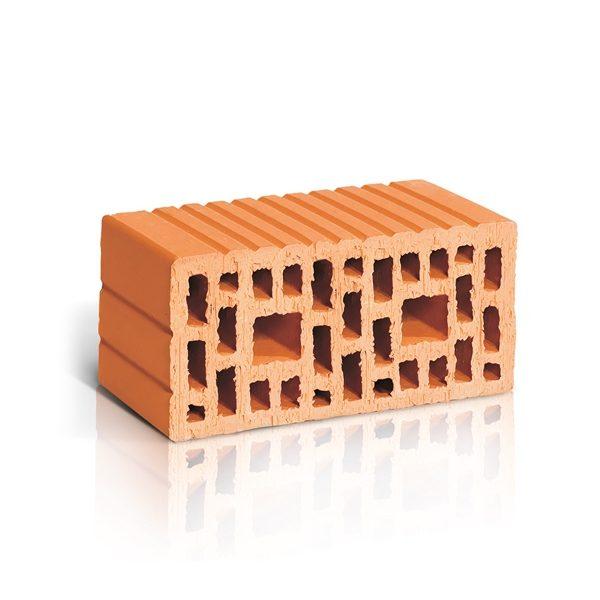 Крупноформатный поризованный керамический блок ЛСР 2,1 NF М150