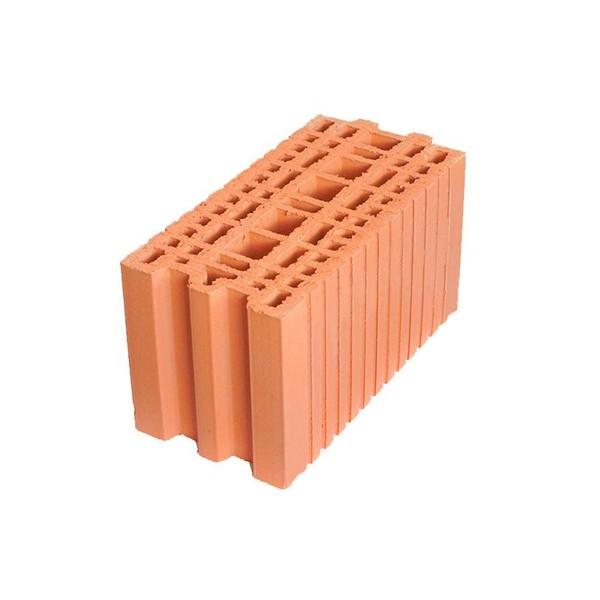 Керамический блок крупноформатный POROTHERM 20 поризованный М100