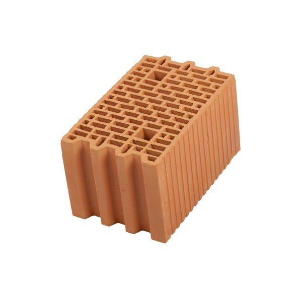 Керамический блок крупноформатный POROTHERM 25 поризованный М100
