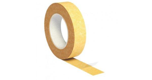 Изоспан KL двухсторонняя клейкая лента на нетканой основе