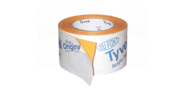Tyvek скотч для герметизации перехлестов Acrylic Tape (75ммх25м)