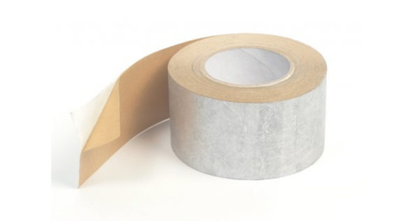 Tyvek лента металлиз.одностор. для герм. перехлестов Metallized Tape