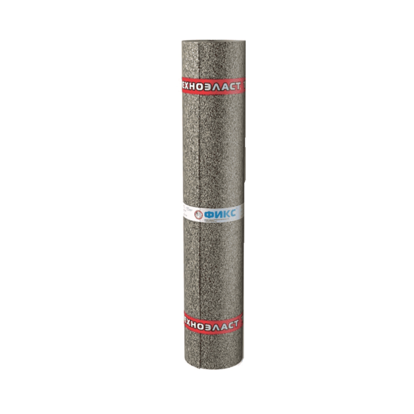 Рулонная гидроизоляция Технониколь Техноэласт Фикс ЭПМ 1x10 м