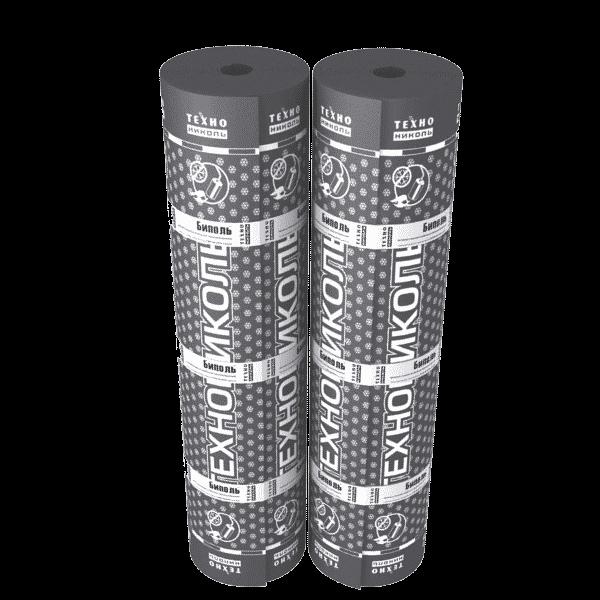 Рулонная кровля Технониколь Биполь ТКП 1x10 м сланец серый