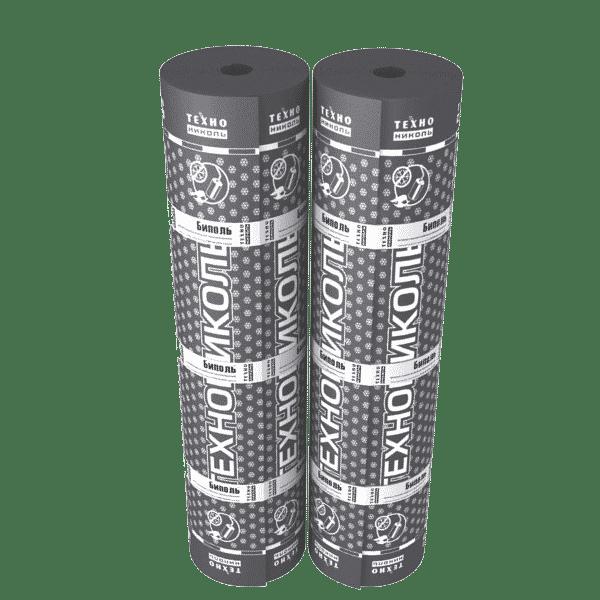 Рулонная кровля Технониколь Биполь ХКП 1x10 м сланец серый