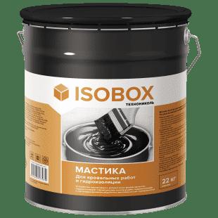 Мастика Технониколь Isobox 22 кг кровельная гидроизоляционная