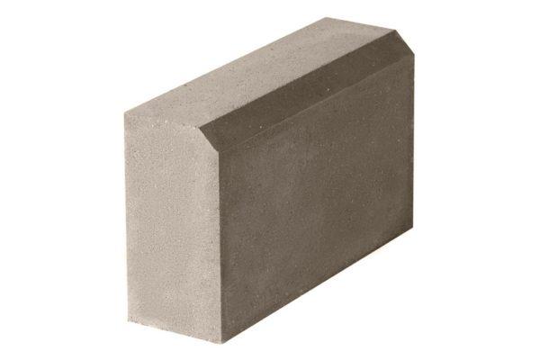 Бордюрный камень 500х150х300 с/ц п/п