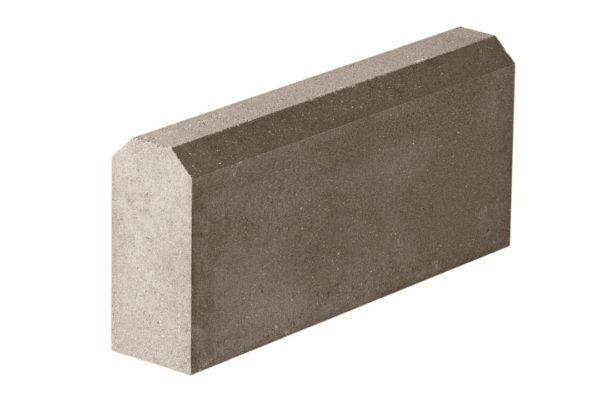 Бордюрный камень 500х100х240 с/ц п/п