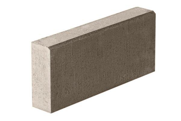 Бордюрный камень 500х800х200 с/ц п/п