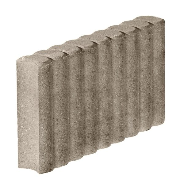Бордюрный камень фигурный 500х80х220 с/ц п/п