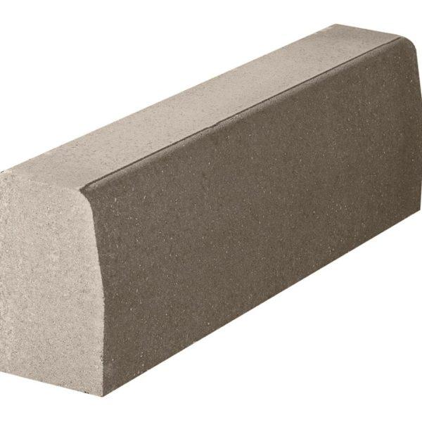 Бордюрный камень 1000х180х300 с/ц п/п