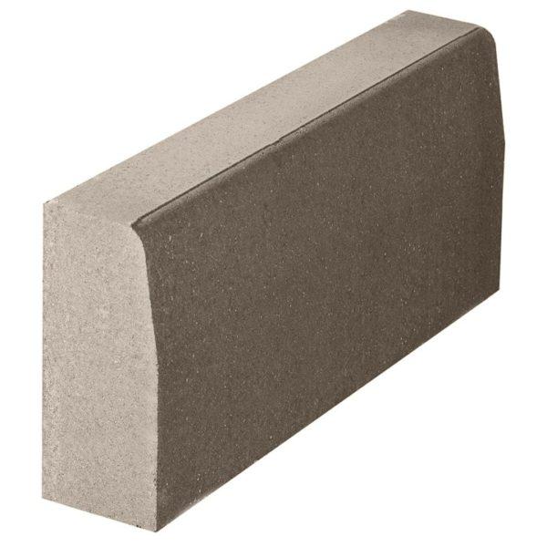 Бордюрный камень 1000х180х450 с/ц п/п