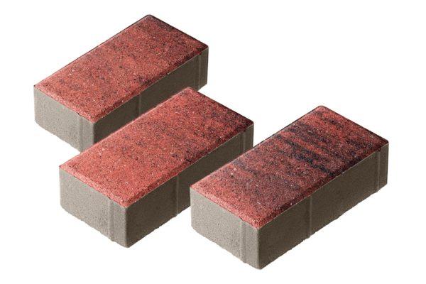 Тротуарная плитка Брусчатка 200x100x70 Колормикс Вулкан