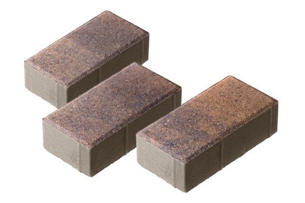 Тротуарная плитка Брусчатка 200x100x70 Колормикс Техас