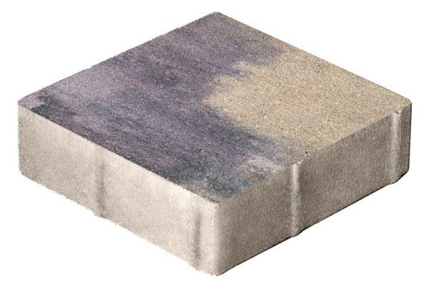 Тротуарная плитка Квадрат 400x400x80 Колормикс Юпитер