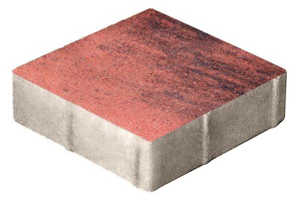 Тротуарная плитка Квадрат 400x400x80 Колормикс Вулкан