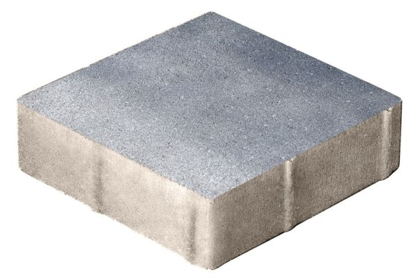 Тротуарная плитка Квадрат 400x400x80 Колормикс Сильвер