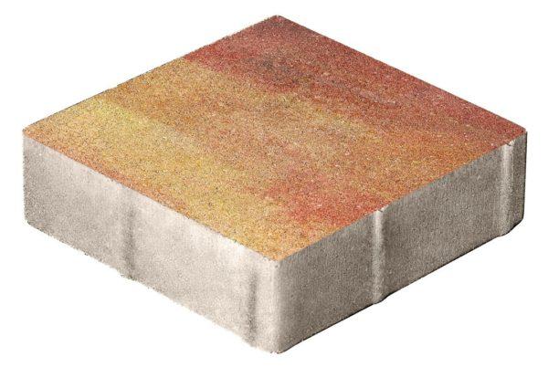 Тротуарная плитка Квадрат 400x400x80 Колормикс Мальва