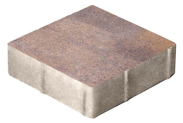 Тротуарная плитка Квадрат 400x400x80 Колормикс Техас