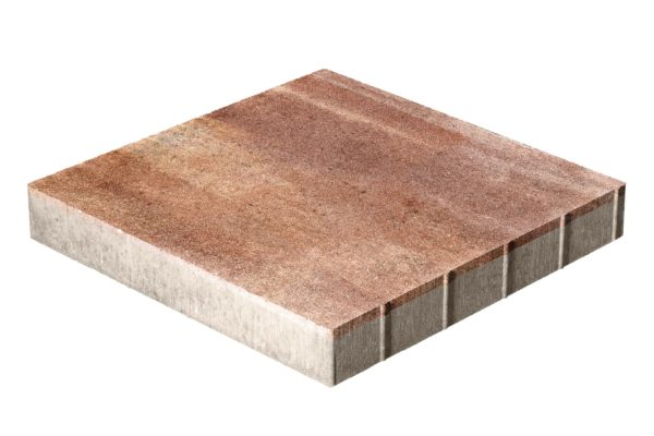 Тротуарная плитка Квадрат 500x500x70 без фаски Колормикс Капучино