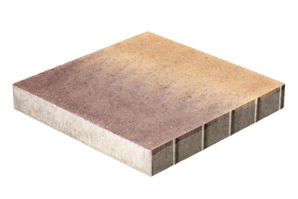 Тротуарная плитка Квадрат 500x500x70 без фаски Колормикс Листопад