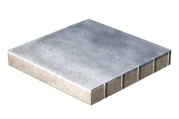 Тротуарная плитка Квадрат 500x500x70 без фаски Колормикс Сильвер