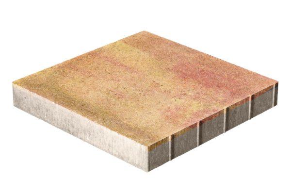 Тротуарная плитка Квадрат 500x500x70 без фаски Колормикс Мальва