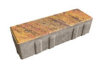 Тротуарная плитка Ригель 240x80х60 Колормикс Мальва