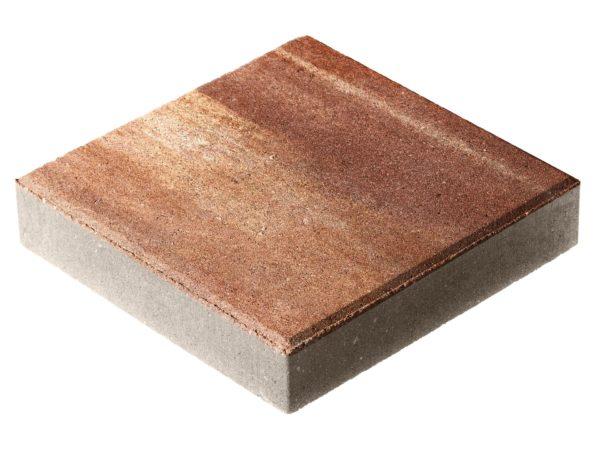 Тротуарная плитка Квадрат П15-6 300x300х60 Колормикс Капучино