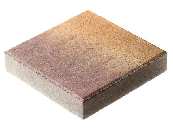 Тротуарная плитка Квадрат П15-6 300x300х60 Колормикс Листопад