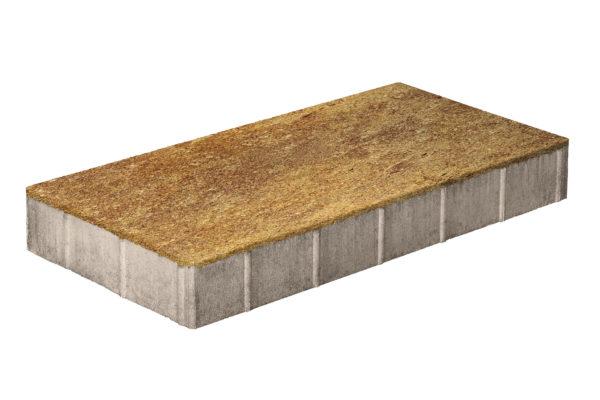 Плита тротуарная 600х300х80 Колормикс Листопад