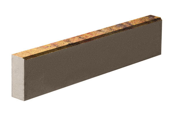 Бордюрный камень 1000х80х200 Колормикс Мальва