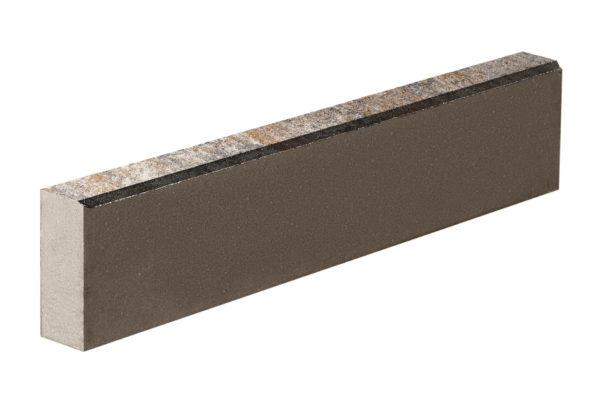 Бордюрный камень 1000х80х200 Колормикс Песчаник