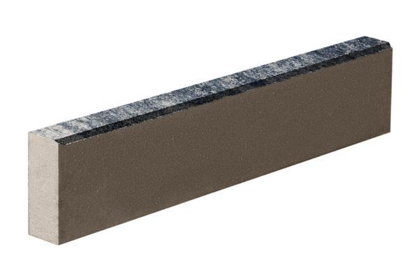 Бордюрный камень 1000х80х200 Колормикс Сильвер